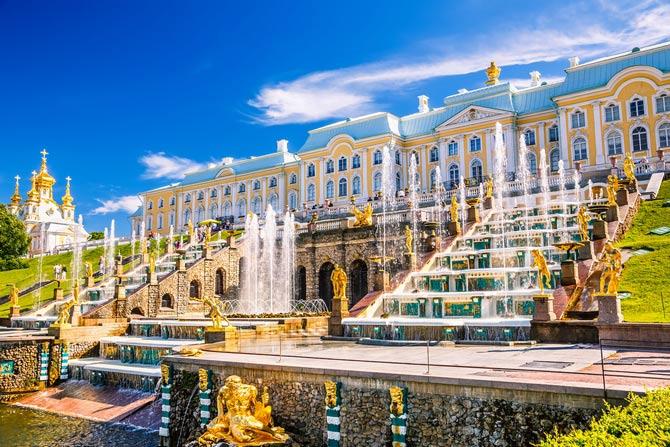 Петергоф, Санкт-Петербург
