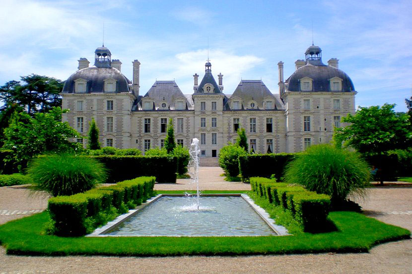 Замок Шеверни во Франции
